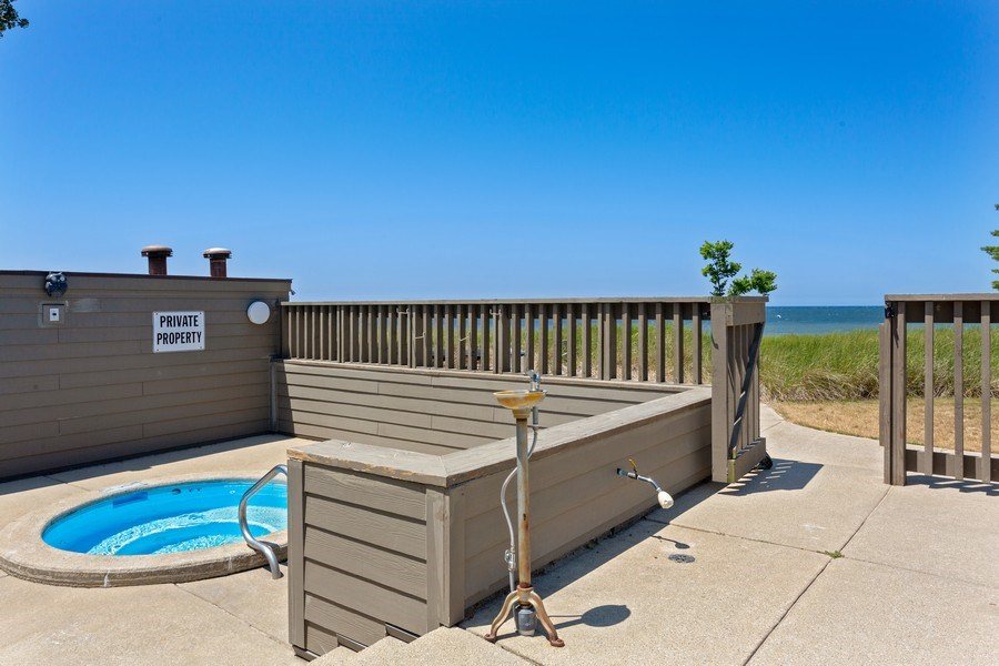 Real Estate Photography - 101 North Shore Drive #30, South Haven, MI, 49090 - Pool