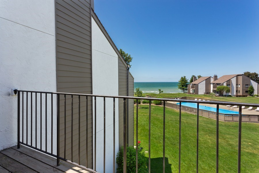 Real Estate Photography - 101 North Shore Drive #30, South Haven, MI, 49090 - Balcony