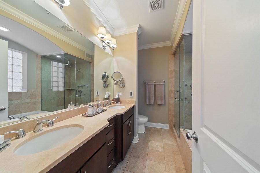 Real Estate Photography - 814 W. Buckingham Ave., Unit 1, Chicago, IL, 60654 - Master Bathroom