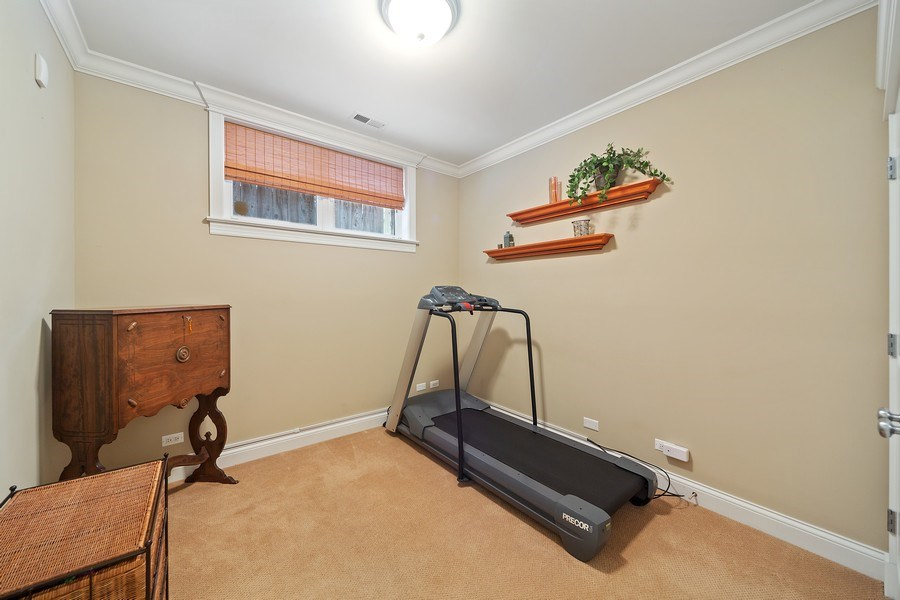 Real Estate Photography - 814 W. Buckingham Ave., Unit 1, Chicago, IL, 60654 - Bedroom 4