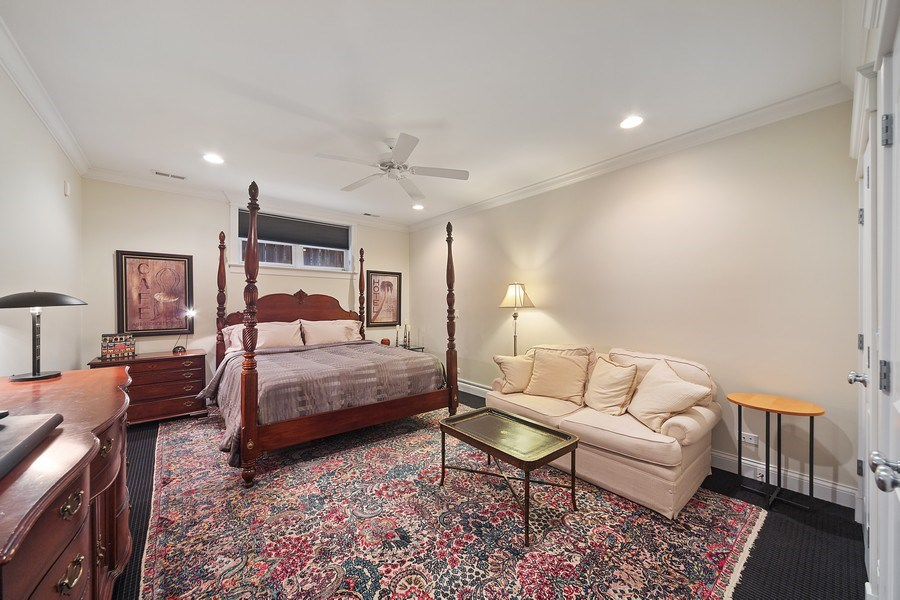 Real Estate Photography - 814 W. Buckingham Ave., Unit 1, Chicago, IL, 60654 - Bedroom 2