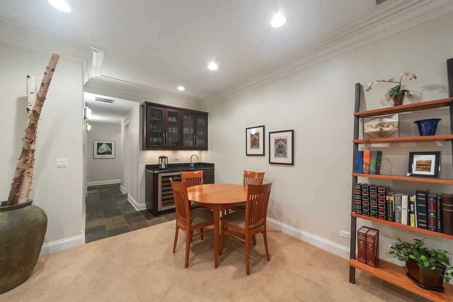 Real Estate Photography - 814 W. Buckingham Ave., Unit 1, Chicago, IL, 60654 - Lower Level