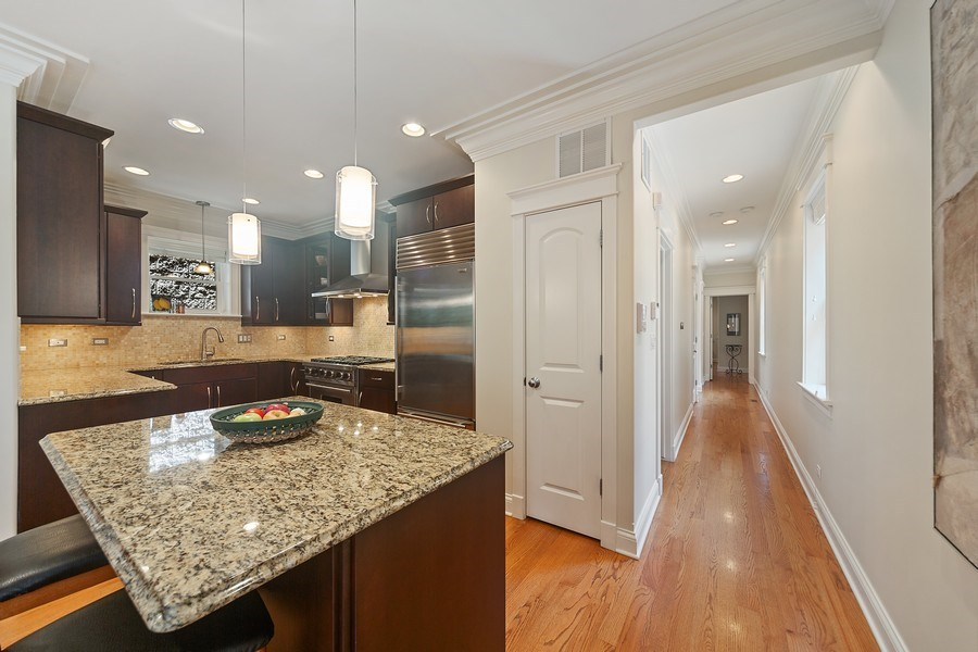 Real Estate Photography - 814 W. Buckingham Ave., Unit 1, Chicago, IL, 60654 - Kitchen