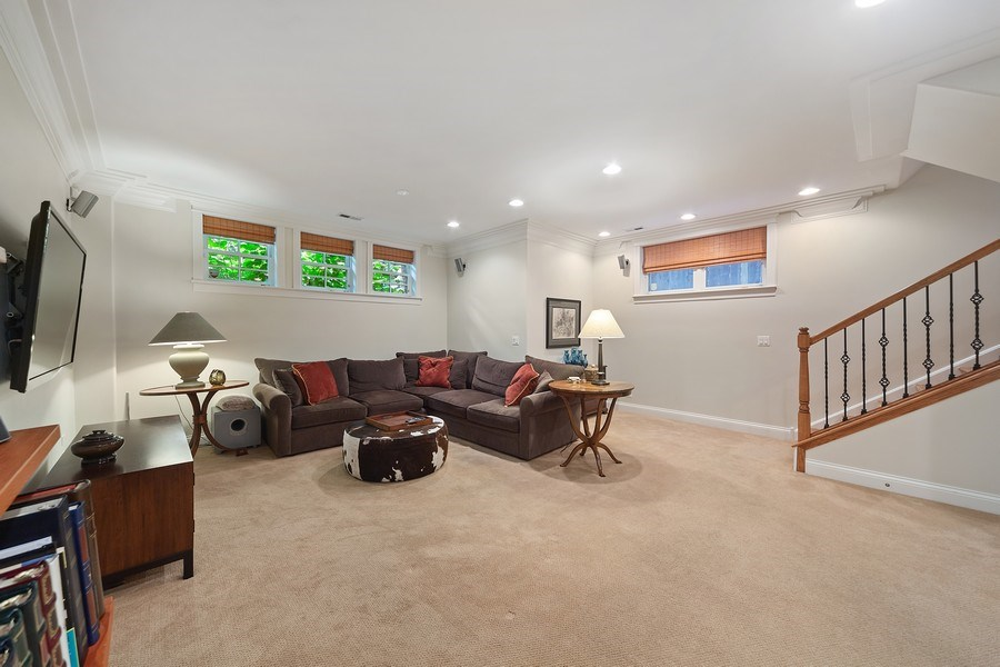 Real Estate Photography - 814 W. Buckingham Ave., Unit 1, Chicago, IL, 60654 - Family Room