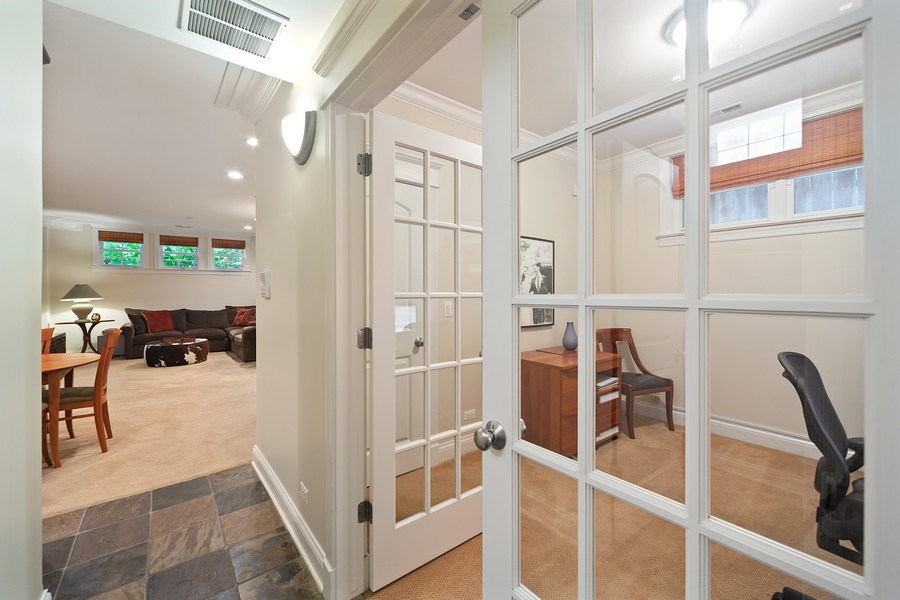 Real Estate Photography - 814 W. Buckingham Ave., Unit 1, Chicago, IL, 60654 - Hallway