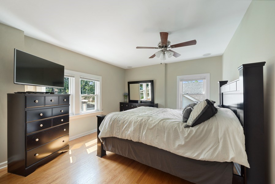 Real Estate Photography - 1761 locust, Des Plaines, IL, 60018 - Master Bedroom