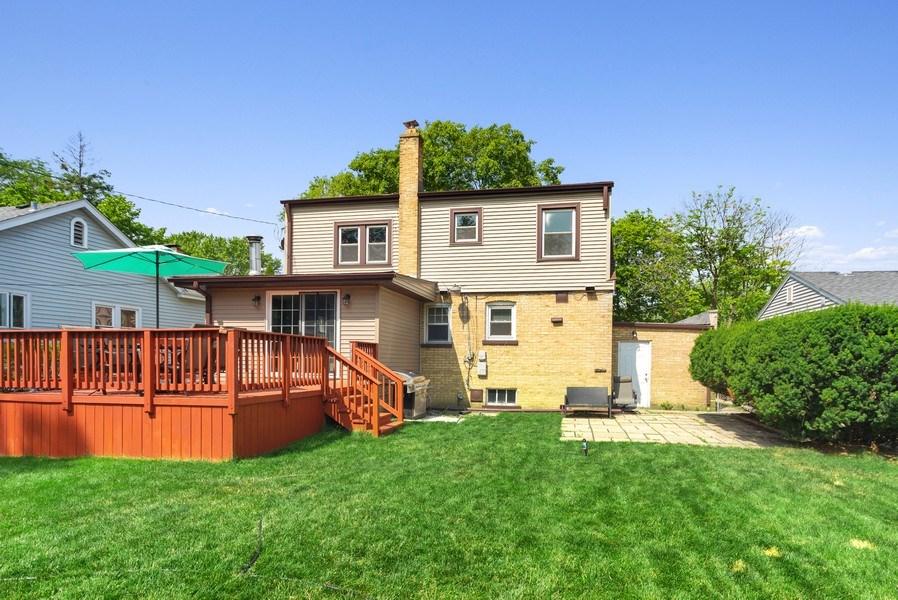 Real Estate Photography - 1761 locust, Des Plaines, IL, 60018 - Rear View