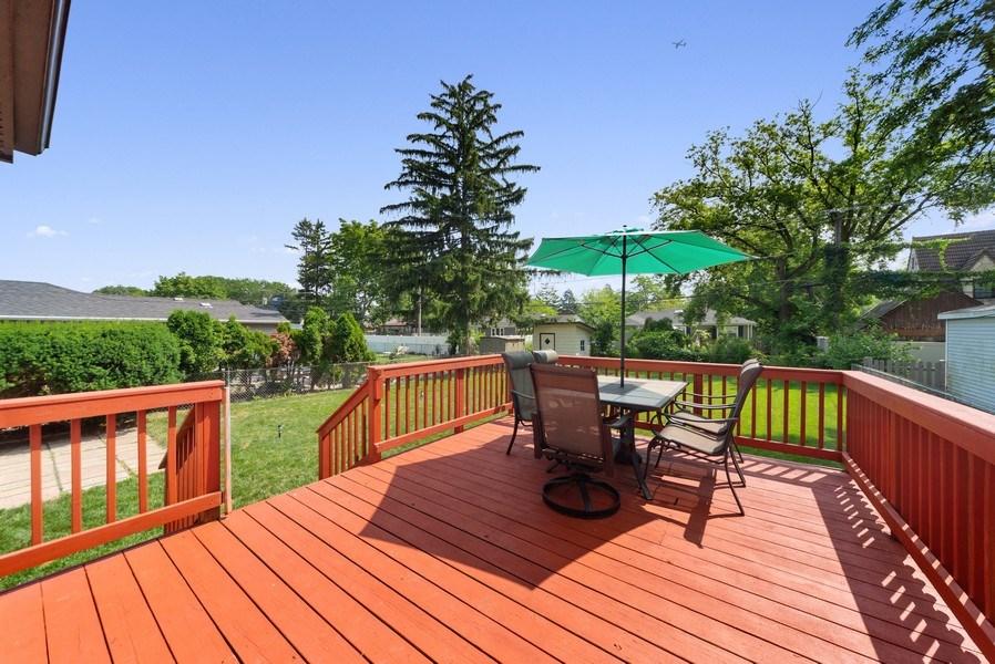 Real Estate Photography - 1761 locust, Des Plaines, IL, 60018 - Deck