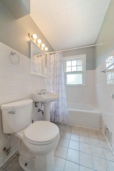 Real Estate Photography - 1761 locust, Des Plaines, IL, 60018 - Bathroom