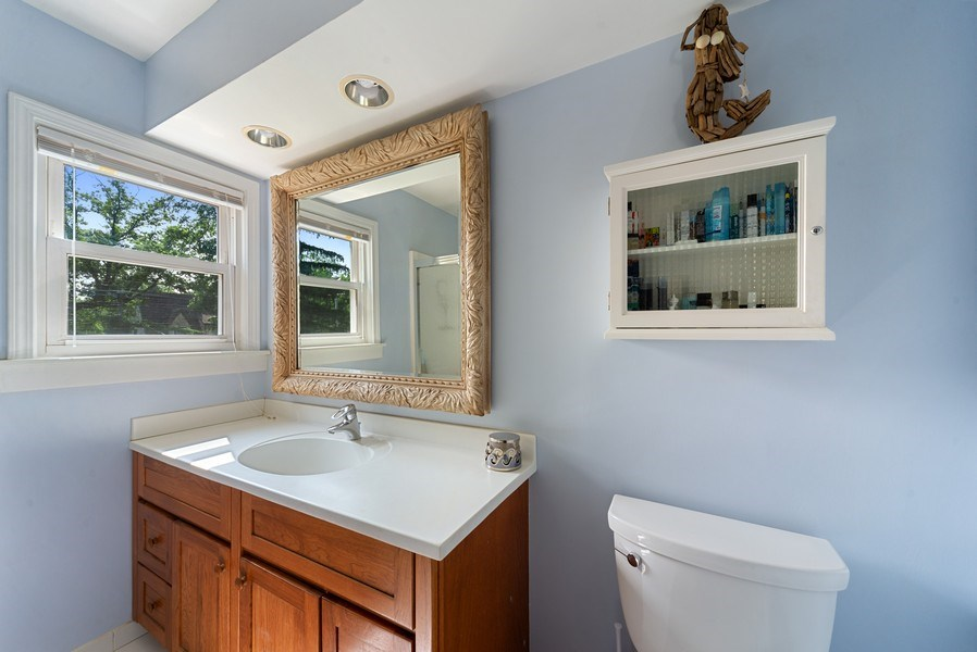 Real Estate Photography - 1761 locust, Des Plaines, IL, 60018 - 2nd Bathroom