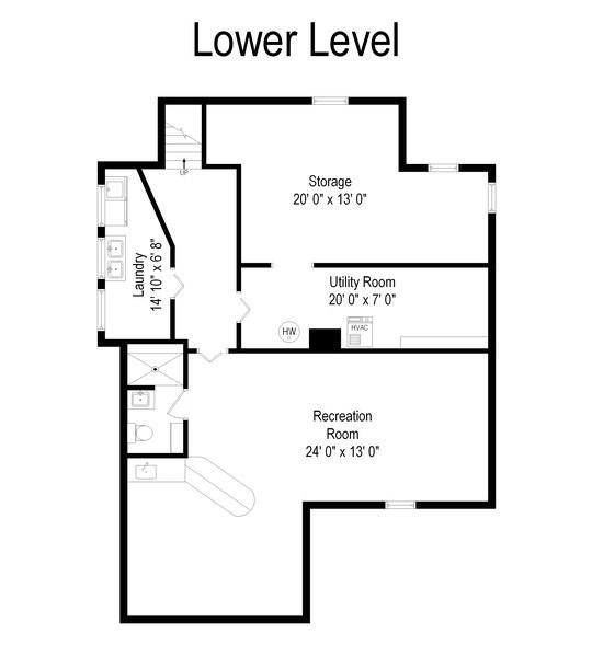 Real Estate Photography - 701 Lake St, St Joseph, MI, 49085 - Floor Plan