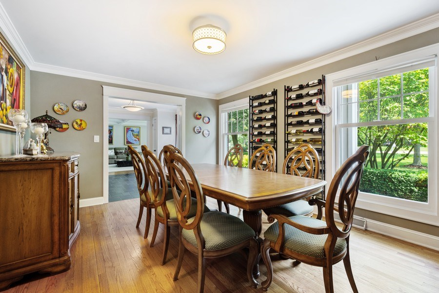 Real Estate Photography - 1340 Lake Shore Dr S, Barrington, IL, 60010 - Dining Room