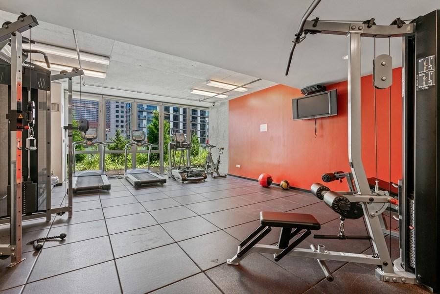 Real Estate Photography - 659 W Randolph, Unit 920, Chicago, IL, 60661 - Gym