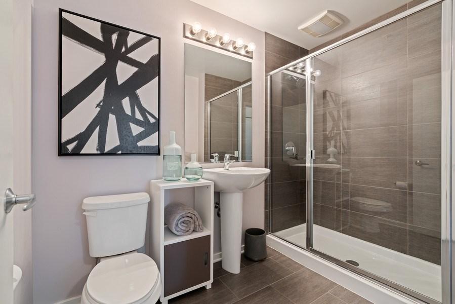 Real Estate Photography - 659 W Randolph, Unit 920, Chicago, IL, 60661 - Bathroom
