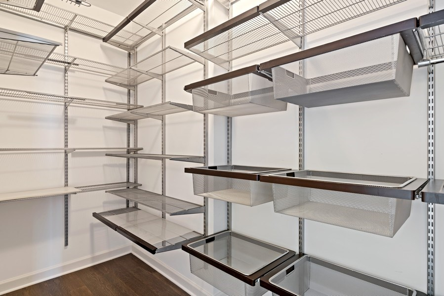 Real Estate Photography - 100 E 14th St, 2904, Chicago, IL, 60605 - Master Bedroom Closet