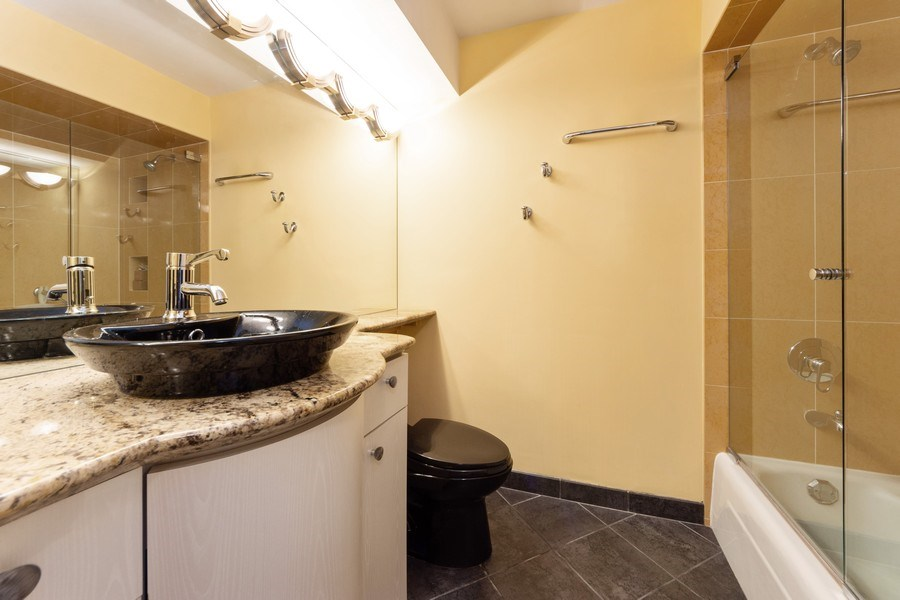 Real Estate Photography - 3801 Mission Hills Road, Unit 306, Northbrook, IL, 60062 - Master Bathroom