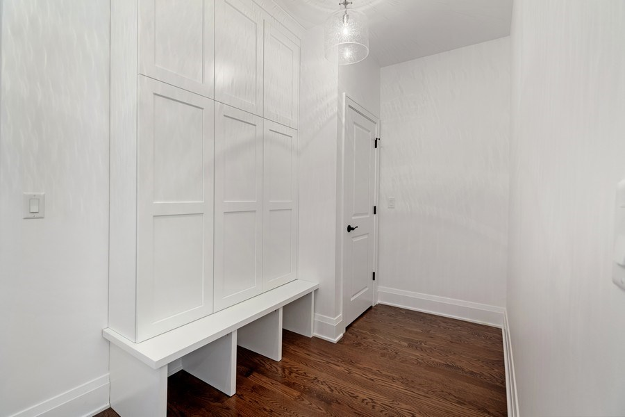 Real Estate Photography - 740 Coronet Rd, Glenview, IL, 60025 - Mudroom