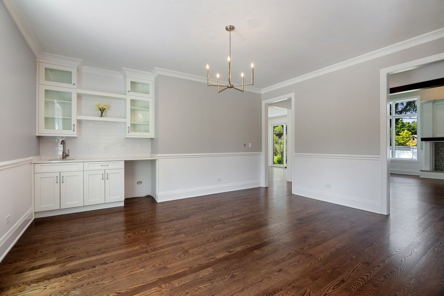 Real Estate Photography - 740 Coronet Rd, Glenview, IL, 60025 - Dining Room