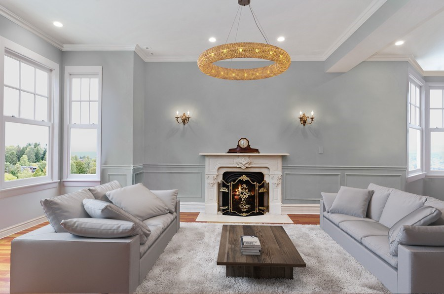 Real Estate Photography - 2632 Burling, Chicago, IL, 60614 - Living Room