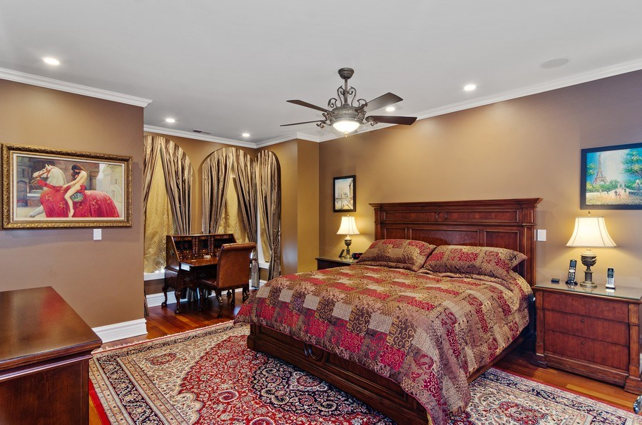 Real Estate Photography - 2632 Burling, Chicago, IL, 60614 - Master Bedroom