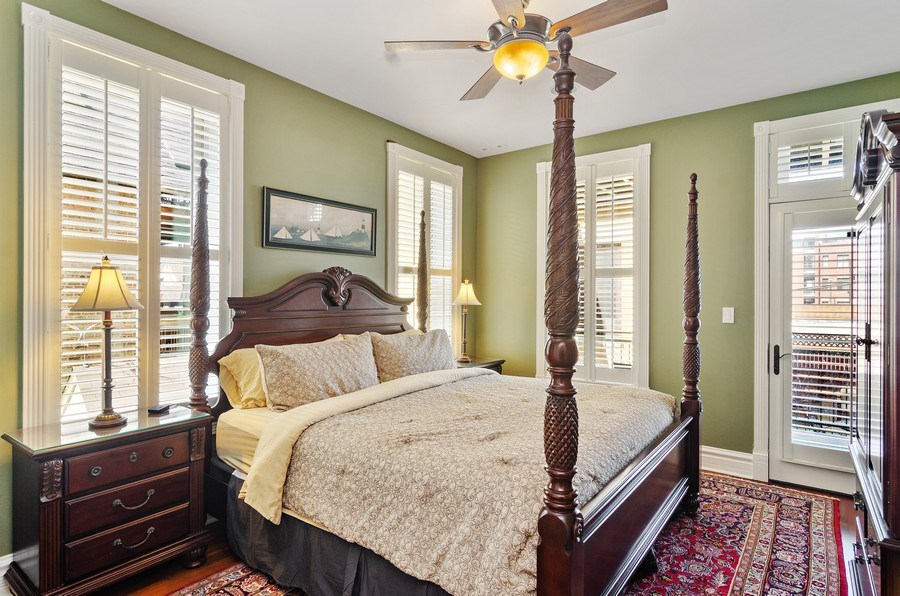 Real Estate Photography - 2632 Burling, Chicago, IL, 60614 - 2nd Bedroom