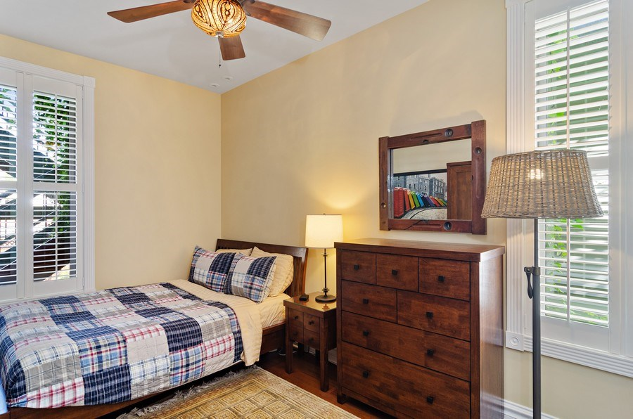 Real Estate Photography - 2632 Burling, Chicago, IL, 60614 - 3rd Bedroom