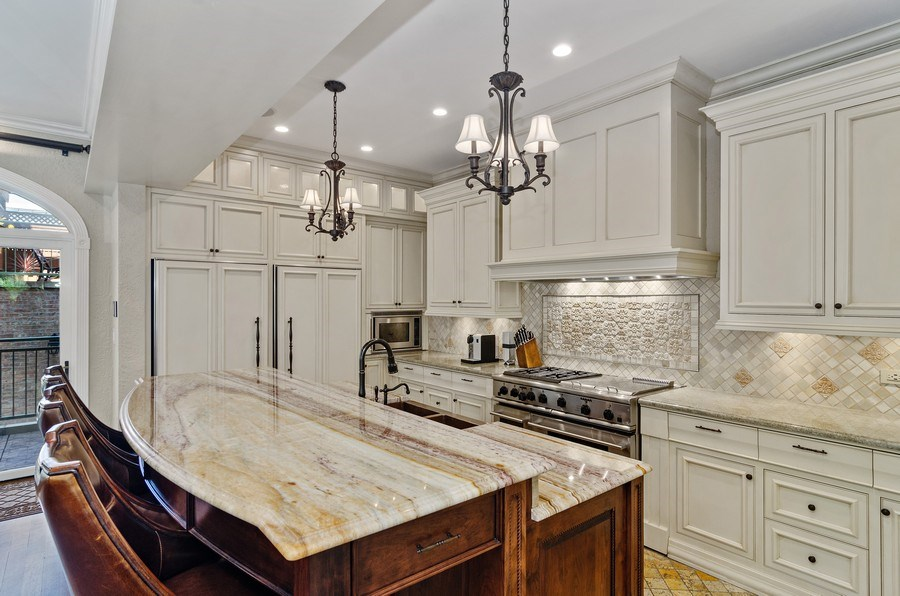 Real Estate Photography - 2632 Burling, Chicago, IL, 60614 - Kitchen