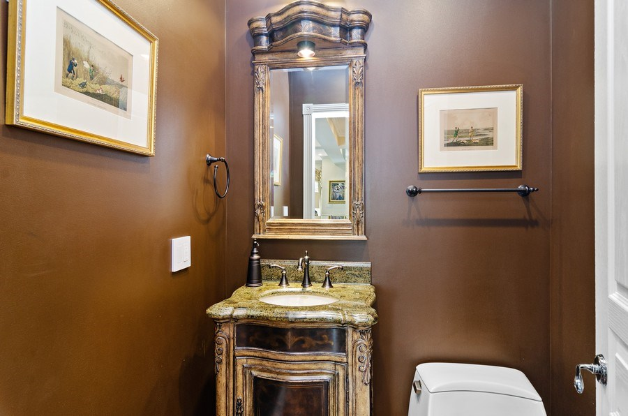 Real Estate Photography - 2632 Burling, Chicago, IL, 60614 - Powder Room