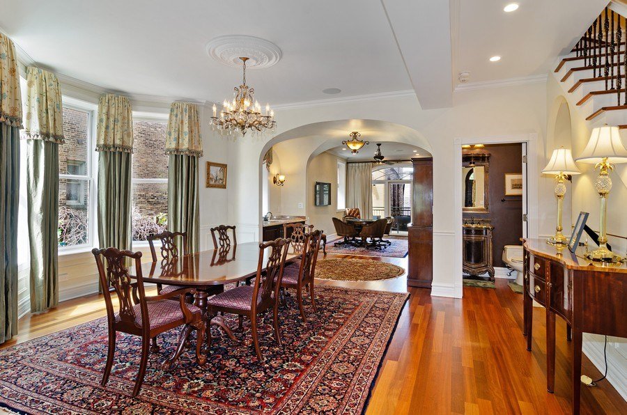 Real Estate Photography - 2632 Burling, Chicago, IL, 60614 - Dining Room