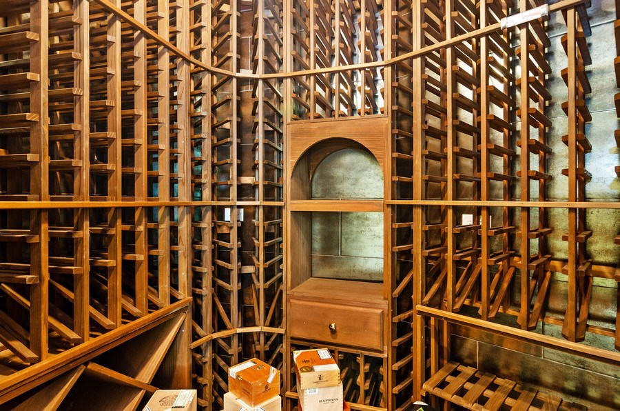Real Estate Photography - 2632 Burling, Chicago, IL, 60614 - Wine Cellar