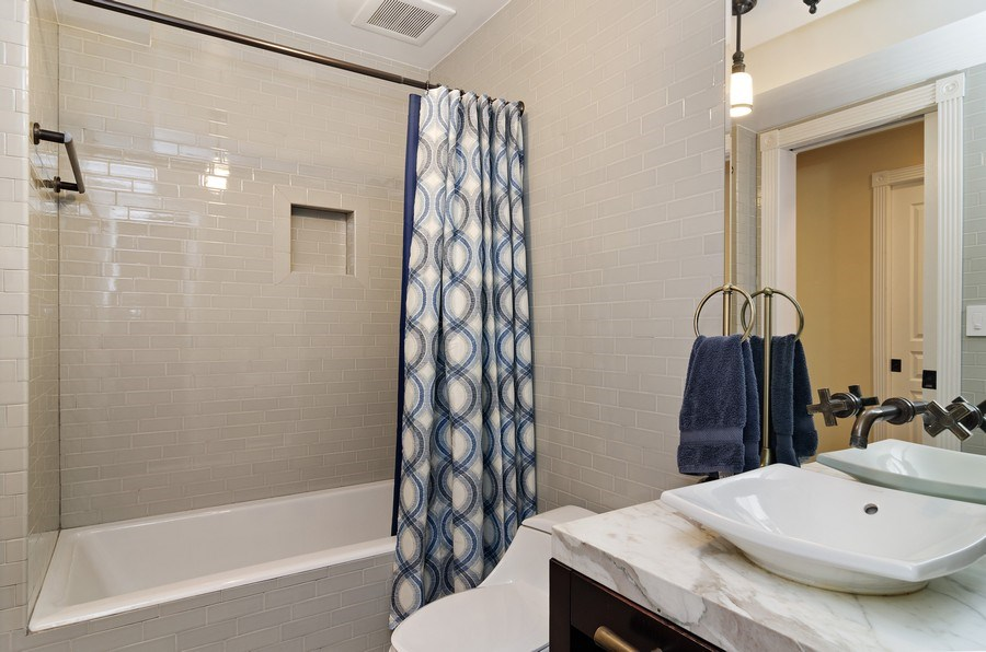 Real Estate Photography - 2632 Burling, Chicago, IL, 60614 - Bathroom