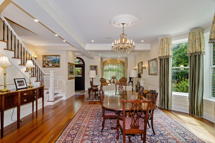 Real Estate Photography - 2632 Burling, Chicago, IL, 60614 - Living Room / Dining Room