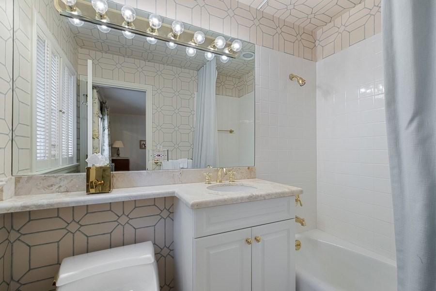 Real Estate Photography - 12 Kent Rd, Winnetka, IL, 60093 - 3rd Bathroom