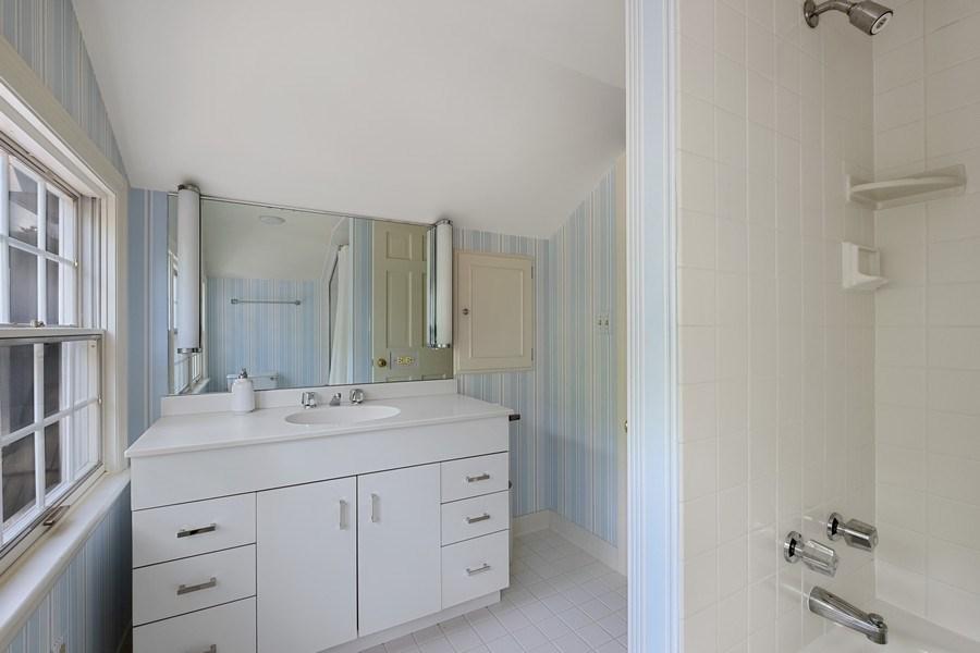 Real Estate Photography - 12 Kent Rd, Winnetka, IL, 60093 - 4th Bathroom