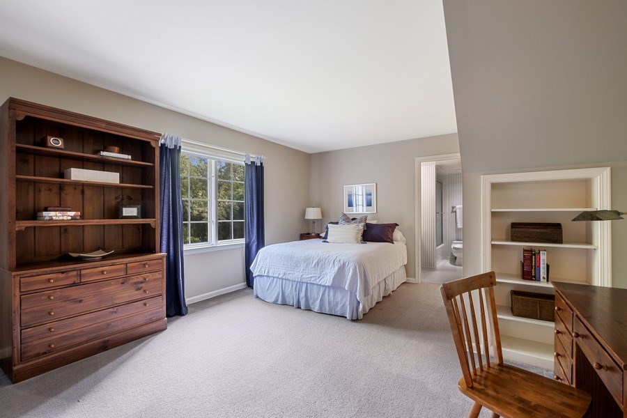Real Estate Photography - 12 Kent Rd, Winnetka, IL, 60093 - 2nd Bedroom