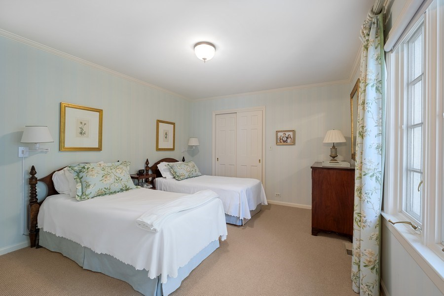 Real Estate Photography - 12 Kent Rd, Winnetka, IL, 60093 - 5th Bedroom