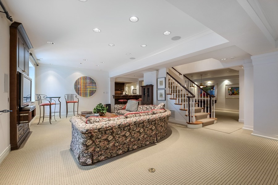 Real Estate Photography - 12 Kent Rd, Winnetka, IL, 60093 - Lower Level