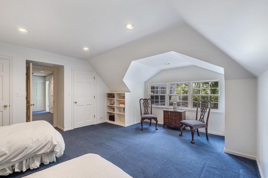 Real Estate Photography - 12 Kent Rd, Winnetka, IL, 60093 - Bedroom