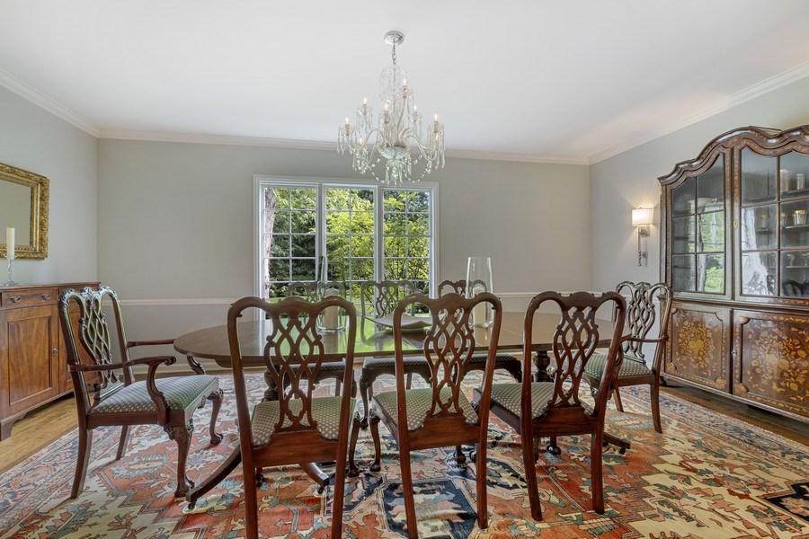 Real Estate Photography - 12 Kent Rd, Winnetka, IL, 60093 - Dining Room