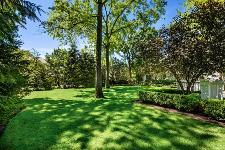 Real Estate Photography - 12 Kent Rd, Winnetka, IL, 60093 - Back Yard