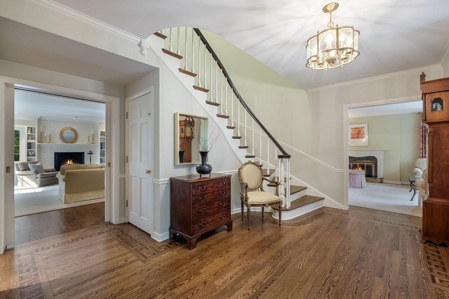 Real Estate Photography - 12 Kent Rd, Winnetka, IL, 60093 - Foyer