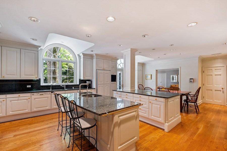 Real Estate Photography - 12 Kent Rd, Winnetka, IL, 60093 - Kitchen