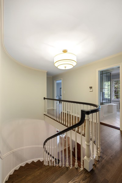 Real Estate Photography - 12 Kent Rd, Winnetka, IL, 60093 - Staircase