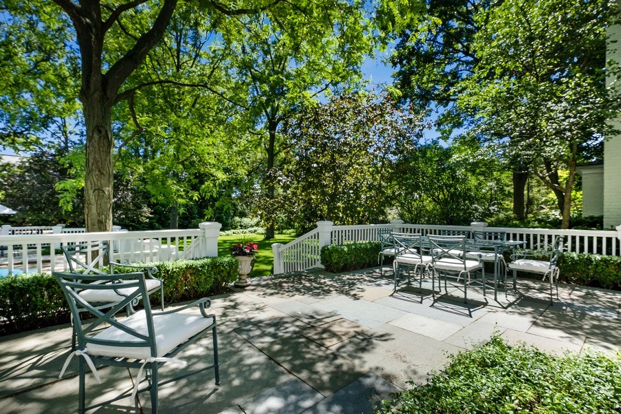 Real Estate Photography - 12 Kent Rd, Winnetka, IL, 60093 - Patio