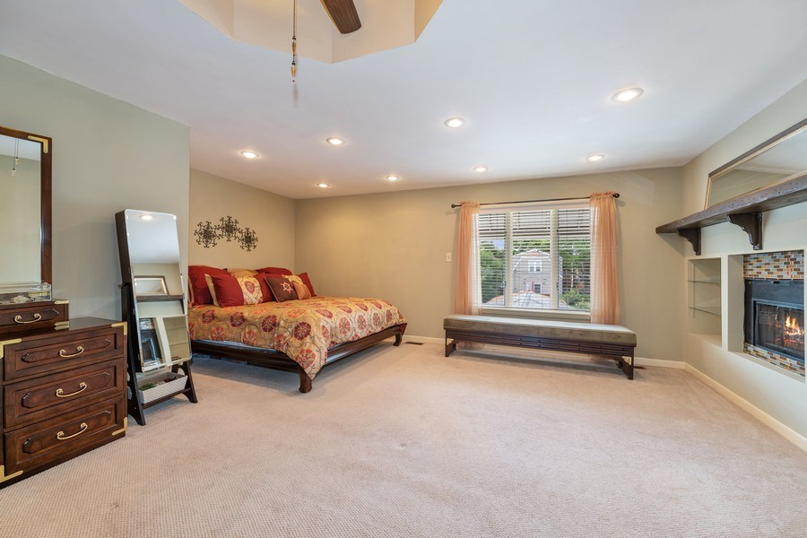 Real Estate Photography - 3614 N. Richmond, Chicago, IL, 60618 - Master Bedroom
