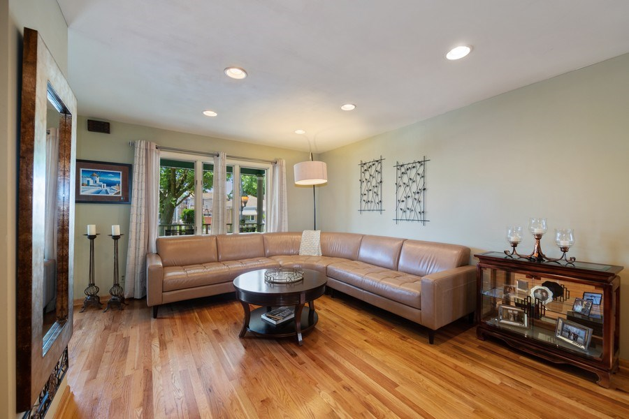 Real Estate Photography - 3614 N. Richmond, Chicago, IL, 60618 - Living Room