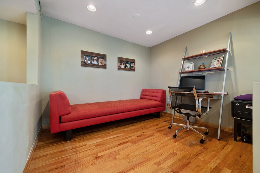 Real Estate Photography - 3614 N. Richmond, Chicago, IL, 60618 - Den