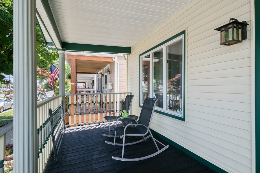 Real Estate Photography - 3614 N. Richmond, Chicago, IL, 60618 - Porch