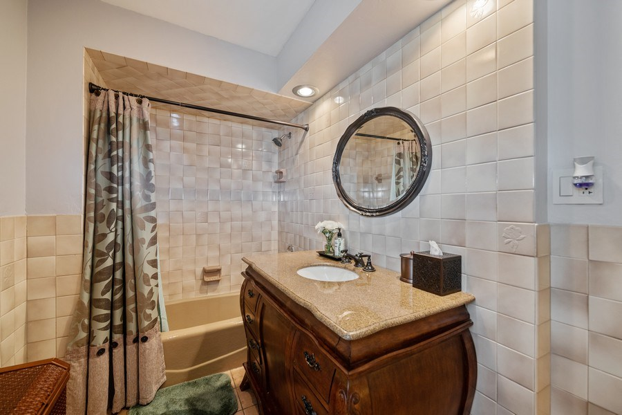 Real Estate Photography - 3614 N. Richmond, Chicago, IL, 60618 - 2nd Bathroom