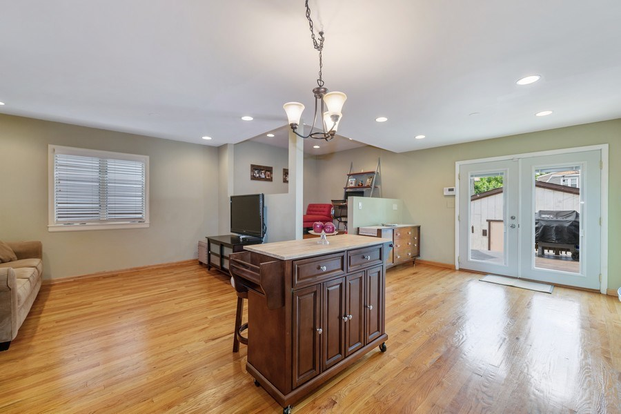 Real Estate Photography - 3614 N. Richmond, Chicago, IL, 60618 - Family Room / Kitchen